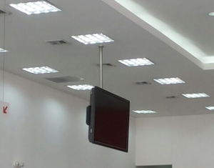 stainless steel tv mount ceiling