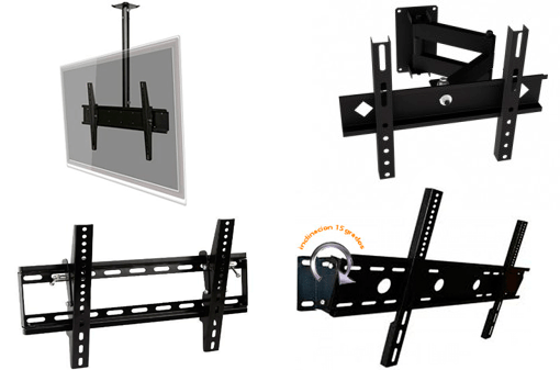 Soportes para televisores led lcd plasma video beams y - Soporte pared television ...