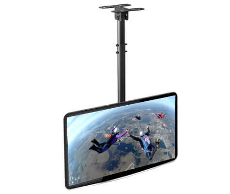 Soporte para colgar el televisor en el techo altura - Altura para colgar tv ...