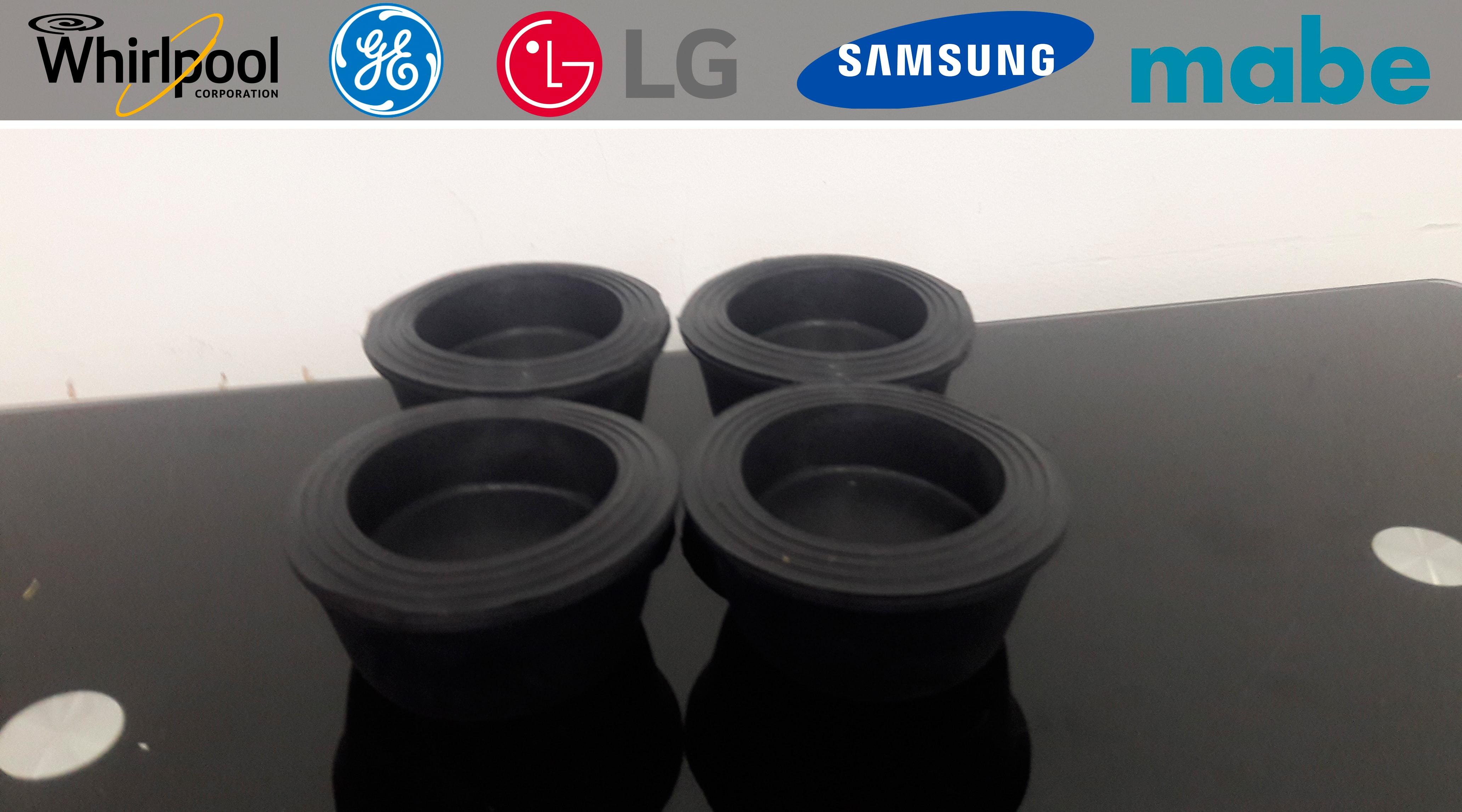Base de caucho para lavadora secadora nevera anti vibraciones bases y soportes ltda - Soporte secadora sobre lavadora ...