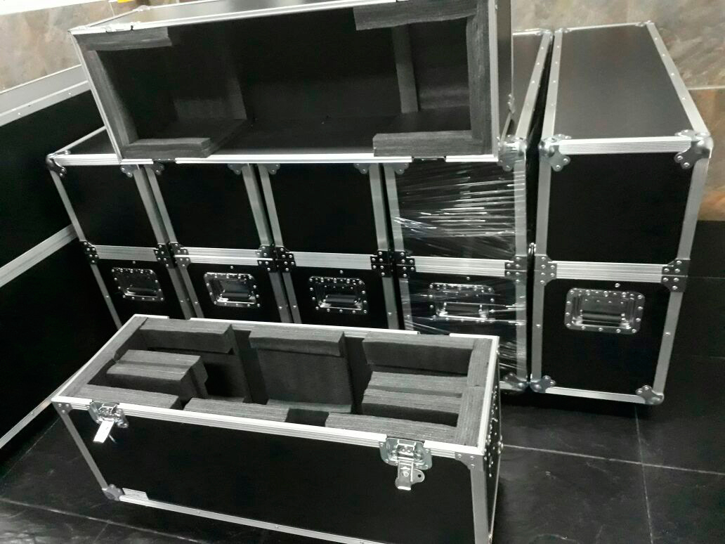 Flight case - Estuches para el Transporte de pantallas LED, LCD, PLASMA
