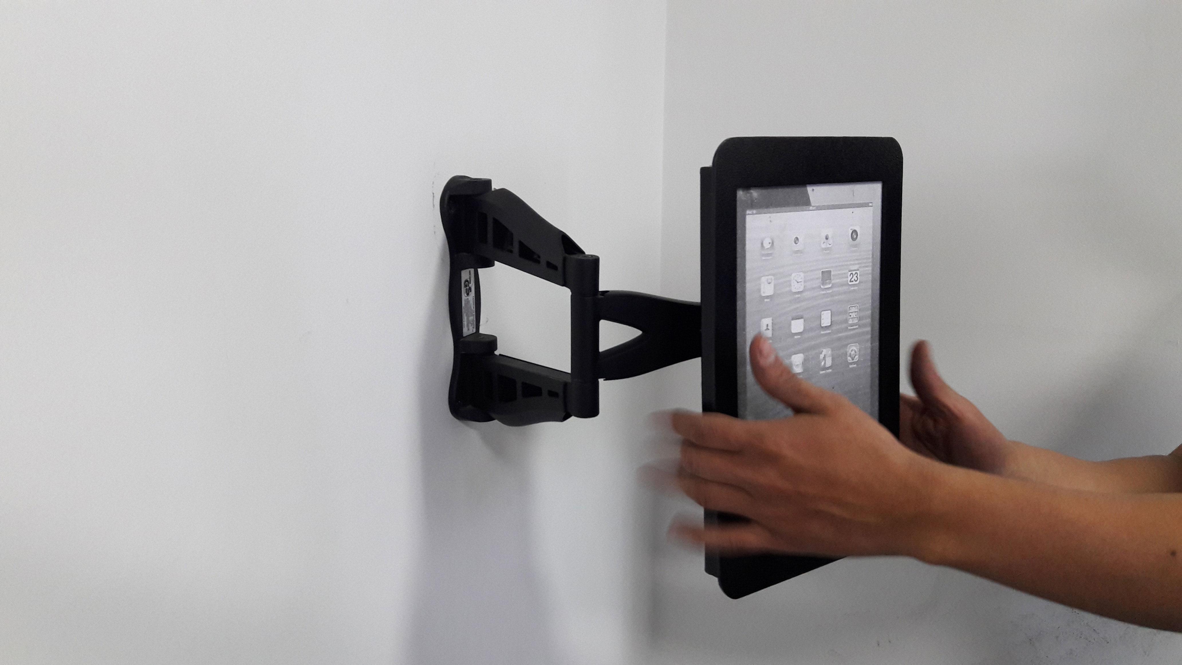 Soporte brazo de tablet ipad bases y soportes ltda - Soporte para tablet ...