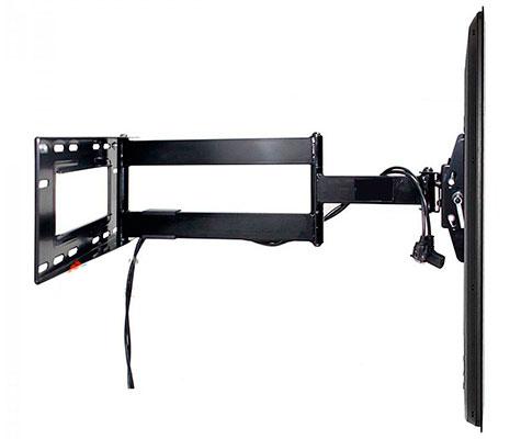 Soporte de brazo movil led lcd giratorio articulado for Soporte mesa tv samsung