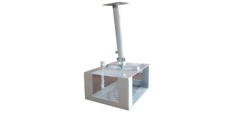 Caja metalica de seguridad con soporte de techo para video - Soportes para proyectores ...