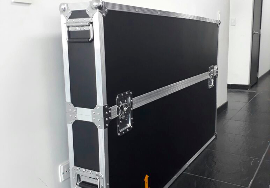 Flight case o racks Para pantallas televisores LCD plasma LED