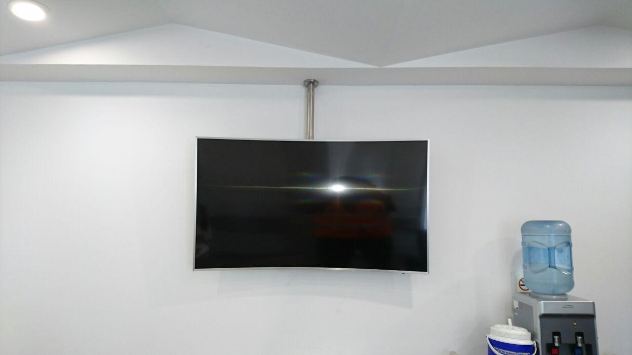 Soportes para colgar tv soporte tv fijo tele lcd a for Soporte para tele