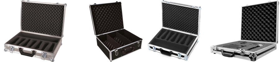 Flight case racks y estuches para guardar proteger y transportar equipos delicados