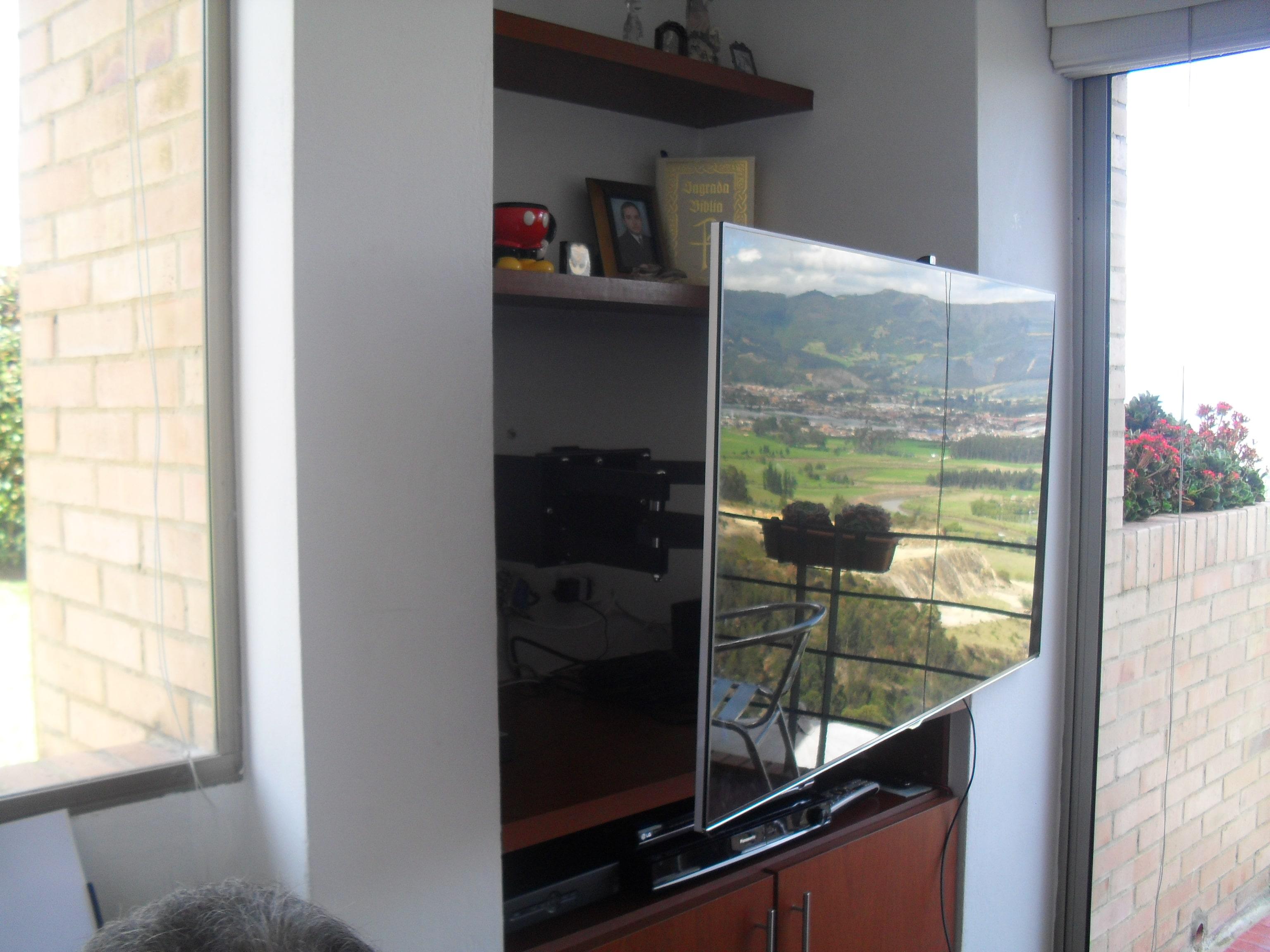 Empotrar tv led lcd en closet armario mueble y biblioteca for Mueble para lcd 50 pulgadas