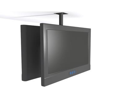 Soporte de techo para 2 televisores 3 monitores 4 o varias - Colgar la tele en la pared ...
