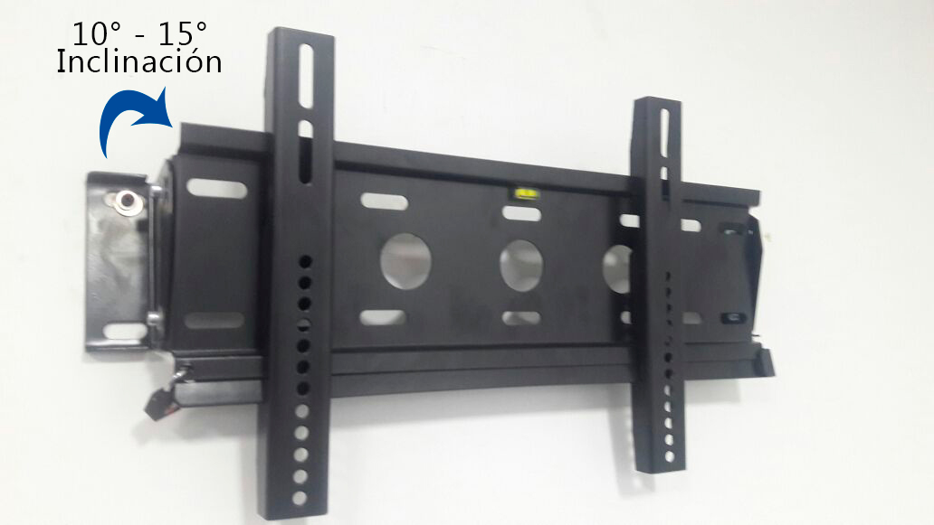 Soporte de pared inclinable antirrobo para tv con - Soporte tv samsung ...