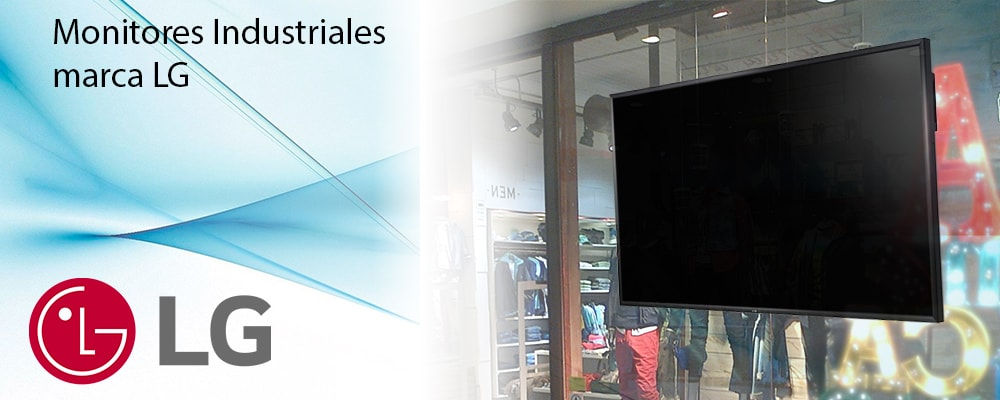 Monitores Industriales Marca LG