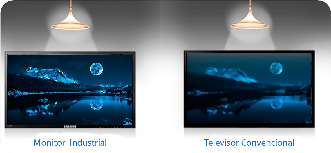 Aspectos Que Diferencian Un Televisor Y Un Monitor Comercial Bases Y Soportes Ltda