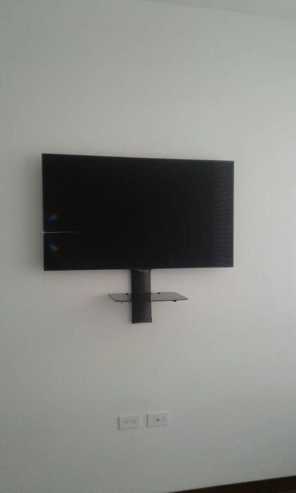 Repisa de pared para tv